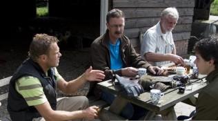Ongedwongen sfeer tijdens de roofvogelworkshop